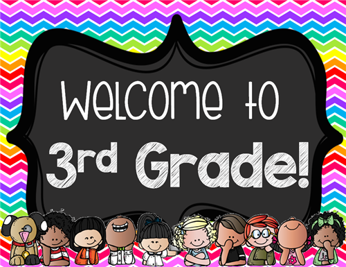 Welcome Third Graders!